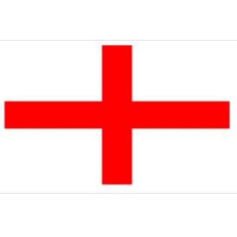 English St George Flag 8' x 5'