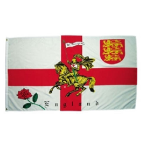 ST George Rose Flag