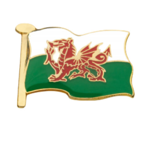 Welsh Dragon Pinbadge